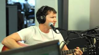 James Blunt singt «Bonfire Heart» für Katie Melua - SRF 3 Live Session