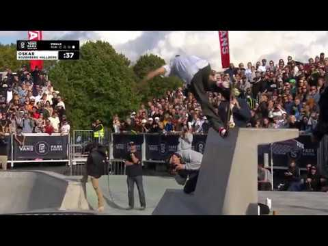 1st Place - Oskar Rozenberg Hallberg (SWE) 86.37 | Malmo, SWE | 2018 Men's Vans Park Series