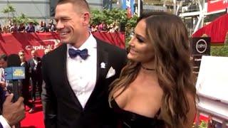 John Cena, Nikki Bella Interview   2016 ESPYs