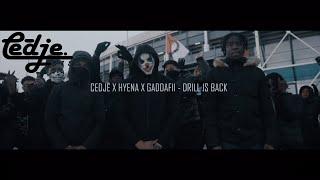 Cedje - Drill is back ft. Hyena & Gaddafii