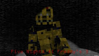I Remain: A Minecraft FNAF Blender Render