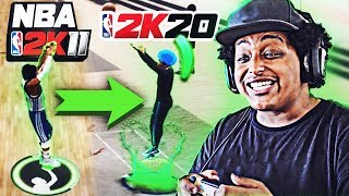 USING THE MOST POPULAR JUMPSHOTS IN 2K HISTORY... ON NBA 2K20