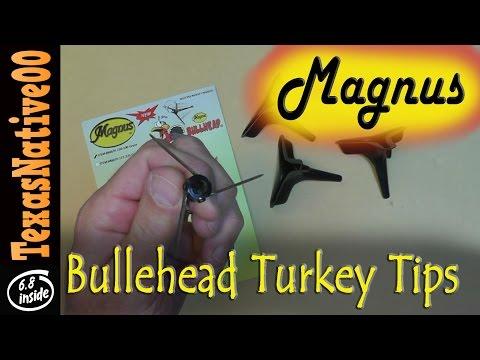 Magnus BullHead Turkey Broadhead Tips - REVIEW