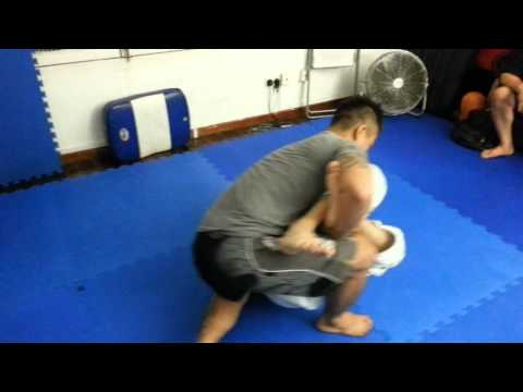 Catch wrestling sparring/ training - hairi and alex Image 1