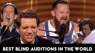 The Voice TOP-10 AMAZING & BEST Blind Auditions of all Times In the World (Part 1)