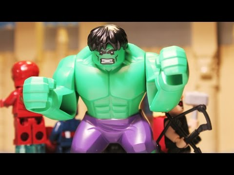 Lego The Avengers and the Selfiedrama