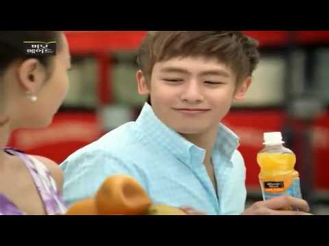HD 2PM Nichkhun Minute Maid with Pulpy CF 30s