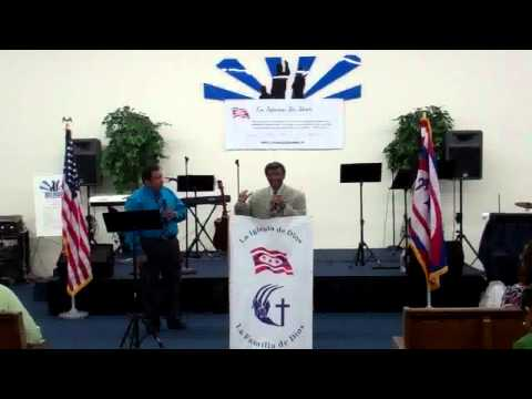 Predicacion Vivir sin Pecado del Obispo Robert Str