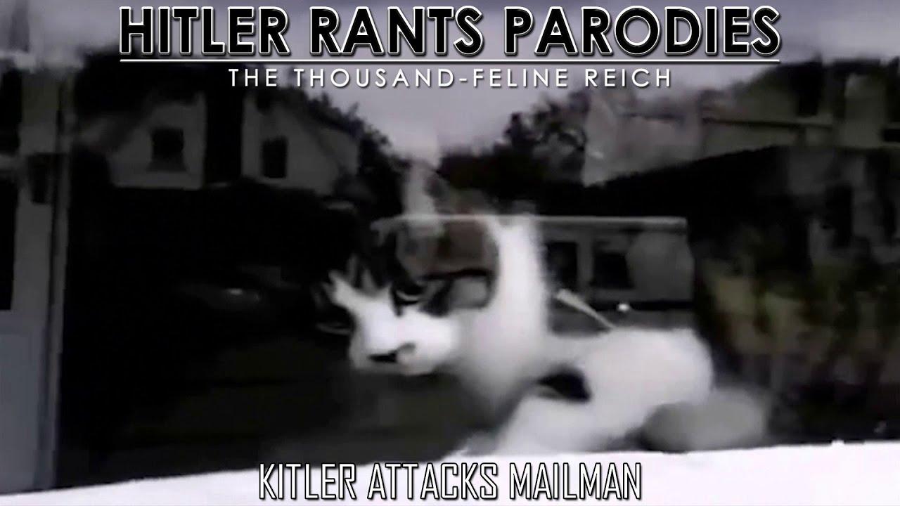 Kitler attacks mailman