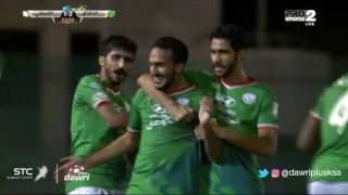 هدف الاتفاق الثاني ضد الفيصلي (صالح آل جمعان العمري) في الجولة 10 من دوري جميل