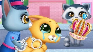 Play Fun Kitten Pet Care Kids Game - Kitty Meow Meow City Heroes - Save The Cat City Games For Kids
