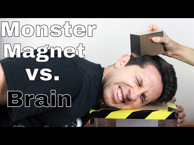 What Does a Giant Monster Neodymium Magnet Do to My Brain?