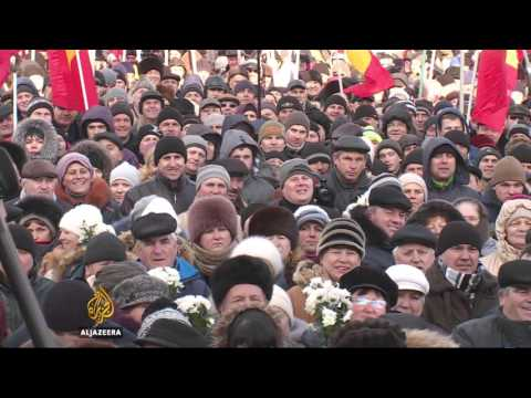 Moldova gripped by mass anti-government protests