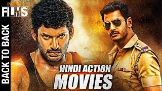 Vishal Back to Back Hindi Action Movies | Full Hindi Dubbed Action Movies | Mango Indian Films