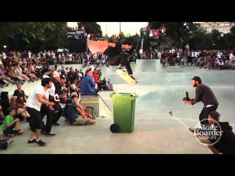 Skateboarder Magazine: Austyn Gillette Warm UP