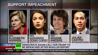 Democrats consider Trump impeachment after he sues them for attempt to obtain his financial records