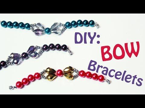 ❄DIY: Bow Bracelets {Simple Gift Idea}