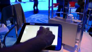 Intel Medfield Android Tablet Hands On at CES 2012