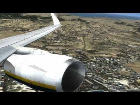 [HD] Microsoft Flight Simulator X: Gold Edition Boeing 737-800 takeoff