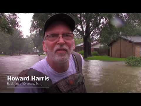 Watch heroic rescues in the middle of Harvey's devastation