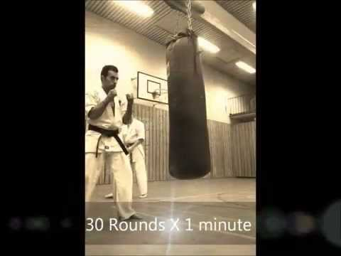 Just another normal week - Kyokushin Training - Amir Poya Ghazishoar - Bård Even Kvamme Image 1