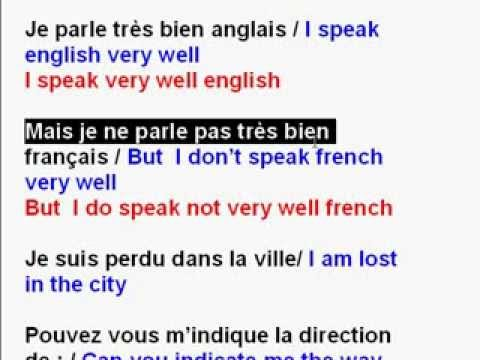 Learn  French With Alain Lesson 4