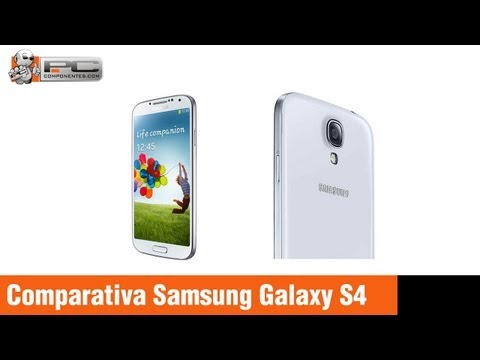 Comparativa Samsung Galaxy S4 vs S3 vs Note II vs iPhone 5