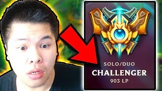 900 LP OMG WAIT IT ACTUALLY HAPPENED..? - Challenger to RANK 1