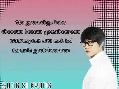 Sung Si Kyung Someday, Somewhere Lyrics