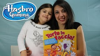 Torte in faccia gioco hasbro apertura prova gioco, unboxing pie face game play