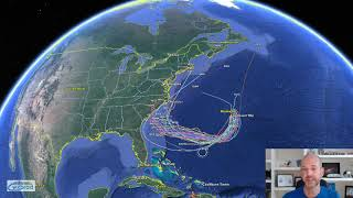 Friday WX VLOG: 9/21/2018: Watching the tropics and stalled fronts.