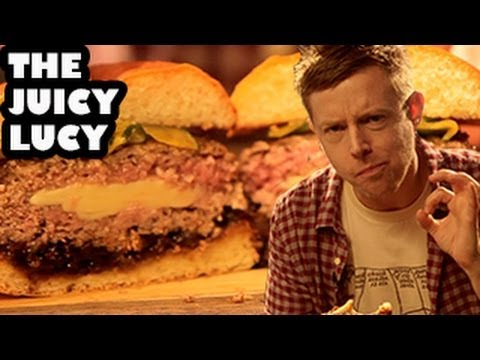 The Juicy Lucy Cheese-Stuffed Burger Recipe - Burger Lab - YouTube