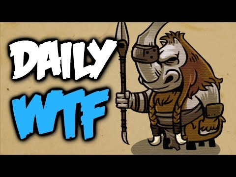Dota 2 Daily WTF - Don't leave me!