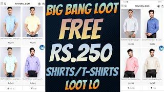 Get Free Shirts/T-shirts Worth Rs.250 👕 Big GoPaisa-MyVishal Loot Offer👌