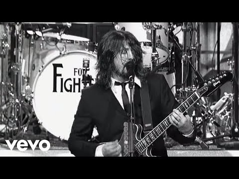 Foo Fighters – Dear Rosemary (Live on Letterman)