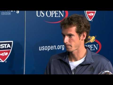 Andy Murray interviewed after US Open 2012 final win - BBC Sport