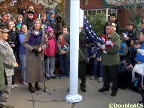 Wamsutta Middle School Celebrates Veterans Day