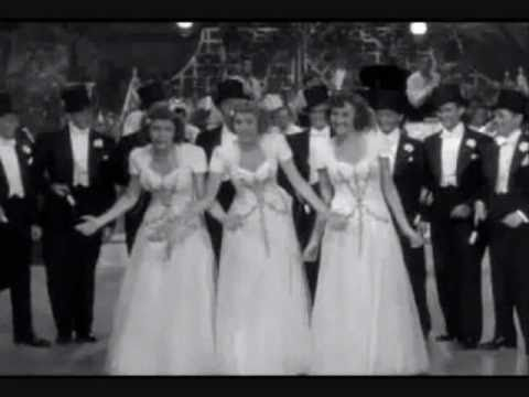 Strip Polka - The Andrews Sisters w/Lyrics