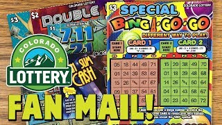 CO FAN MAIL! Ne$t Egg Scramble, Special Bing A-Go-Go + More! ✦ Colorado Lottery Scratch Tickets