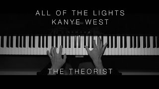 Kanye West - All of The Lights | The Theorist Piano Cover)