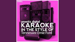 Sixteen Tons Karaoke Version