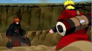 Naruto  vs pain skillet hero
