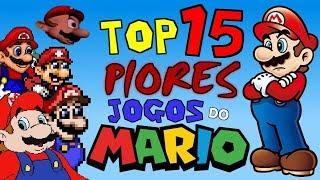 TOP 15 Piores Jogos do Mario