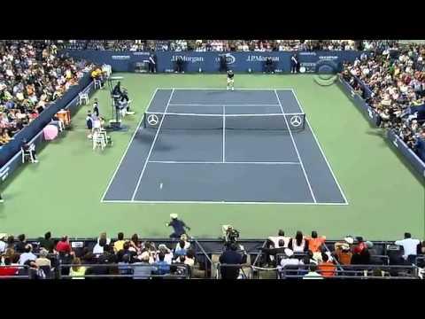 US Open 2010-- Top 5 Shots