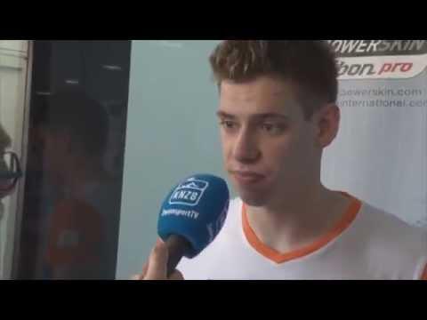 Interview met Kyle Stolk op zaterdag - ONK Tilburg 2014
