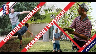 Disc Golf Pro Tour: The Jonesboro Open presented by Prodiscus - Round Two