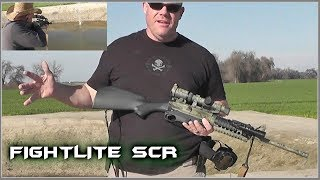 No pistol grip?  RELAX and carry on!  -  FightLite SCR