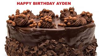 Ayden - Cakes Pasteles_1478 - Happy Birthday