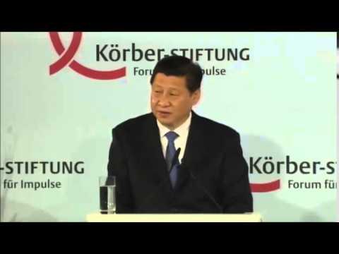 Xi Jinping' speech in Berlin 2014 -  English translation