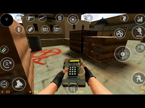CS:GO ON ANDROID! GAMEPLAY HD and TUTORIAL
